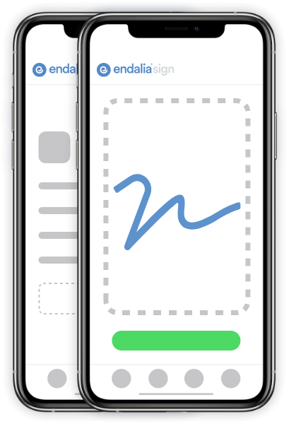 endalia hr mobile sign 1 Software de workflows